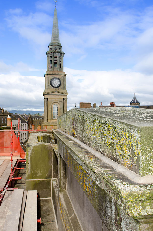 thompson roofing glasgow case study